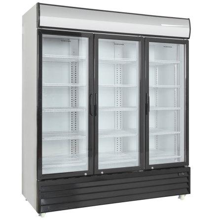 Kylskåp med glasdörr SD 1502 HE,<BR> Scancool