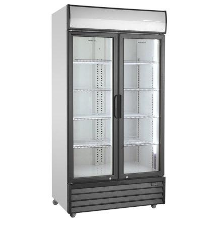 Kylskåp med glassdörrar SD 1002 HE,<BR> Scancool