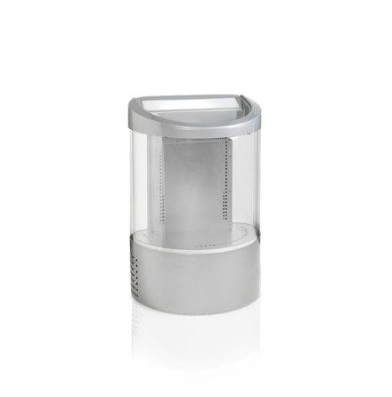 Burkkyl grå 110 L, VOC100, LED-belyst huv, Tefcold