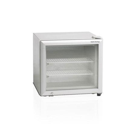 Frysskåp med glasdörr 50 L UF50G inkl. 2 hyllor, Tefcold