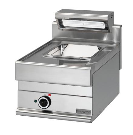 Mat/pommes värmeri el bänkmodell GN 1/1 dim. 400x650x280 mm