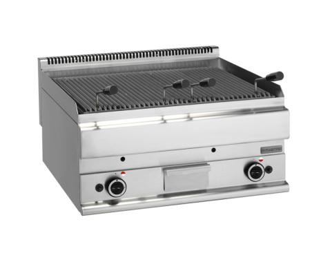 Lavastensgrill gas bänkmodell 15 kW dim. 700x650x280 mm