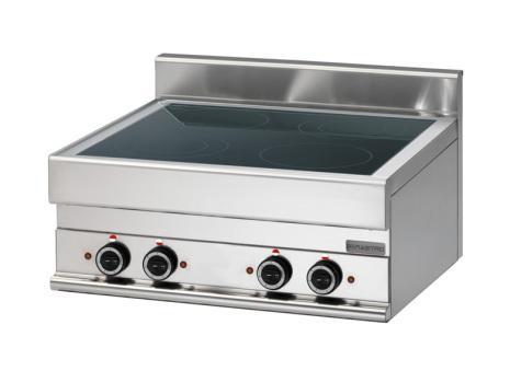 Spis elkeramik bänkmodell 4 zoner dim. 700x650x280 mm