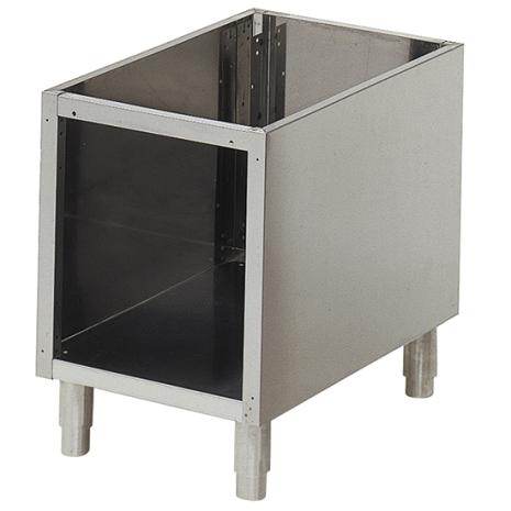 Öppet underkåp för bänkmoduler 650 dim. 400x540x570 mm