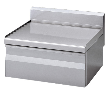 Avställning med draglåda bänkmodell dim. 600x600x280 mm