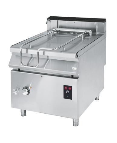 Tippbart stekbord el kapacitet 50 L 10 kW dim. 800x730x870 mm