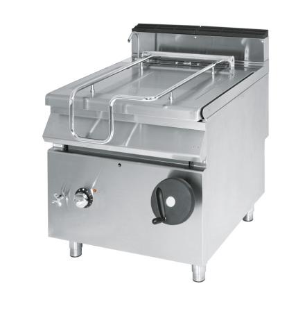 Stekbord el tippbart kapacitet 120 liter rostfritt dim.1200x900x870 mm