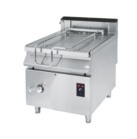 Stekbord el tippbar kapacitet 120 liter rostfritt dim. 1200x900x870 mm