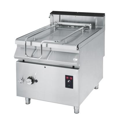 Stekbord gas tippbart kapacitet 120 liter rostfritt dim. 1200x900x870 mm