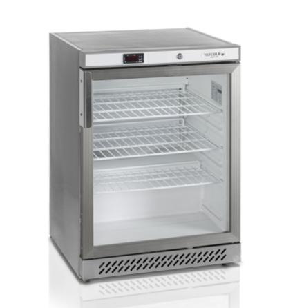 Kylskåp kompakt glasdörr UR200SG Tefcold dim. 600x600x850 mm