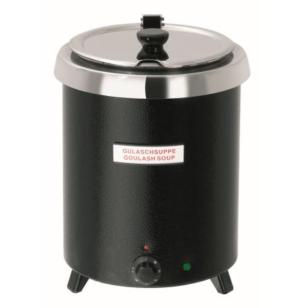 Soppvärmare 8.5 liter Club svar dim. 295x295x285 mm dim. 295x295x285 mm
