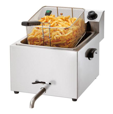 Fritös el bänkmodell Pro, 10L 8 kW dim. 410x500x380 mm