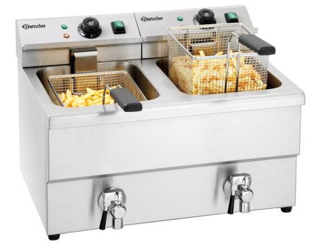 Fritös 2 x 8 L IMBISS II 2 x 3,25 kW dim. 580x550x410 mm