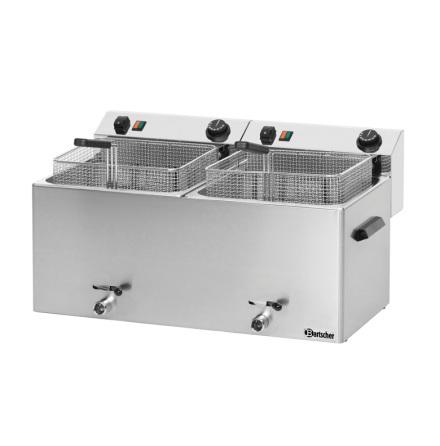 Fritös 2 x 10 L Professional II 16.2 kW dim.750x450x375 mm