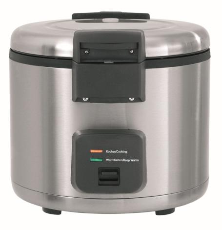 Bartscher riskokare 8 liter 40 portioner<br> inkl. spatel & silkonmatta