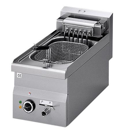 Fritös el bänkmodell 10 liter 7.5 kW dim. 300x600x280 mm
