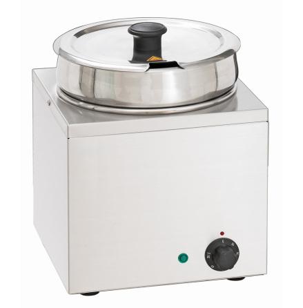 Vattenbad Hotpot, 1 x 6,5 liter dim. 225x280x320 mm dim. 225x280x320 mm