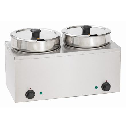 Vattenbad Hotpot, 2 xt 6,5 Liter dim. 505x280x320 mm