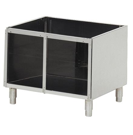 Underskåp öppet för bänkmoduler 650 dim., 800x540x570 mm