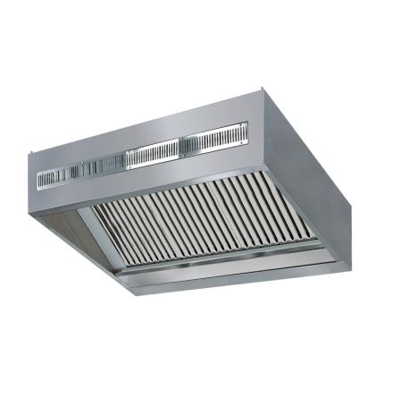 Ventilationskåpa från- / tillluft 3800/5400 m³/h L=3600 dim. 3600x2200x480 mm