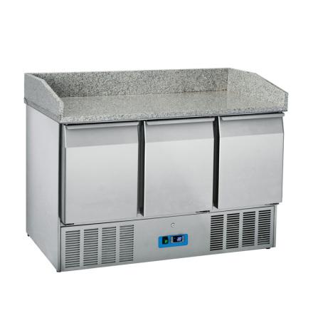 Bagerikylbänk 3 dörr GN 1/1 dim. 1400x700x1022
