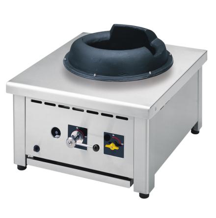 Wokspis bänkmodell 1 brännare 18 kW dim y600x650x467 mm