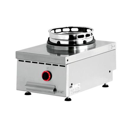 Wokspis bänkmodell 1 brännare 13 kW dim. 400x600x300 mm