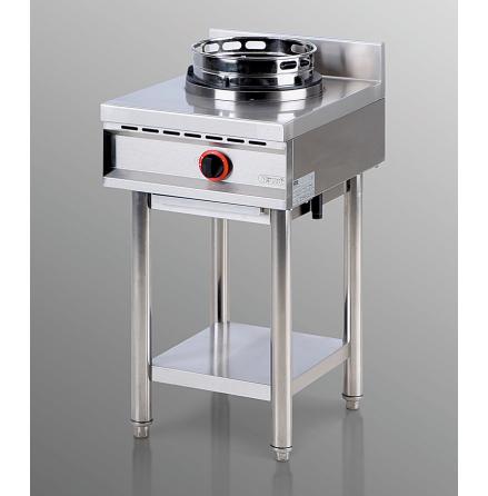 Wokspis 1 brännare 13 kW dim. 475x600x850/950 mm