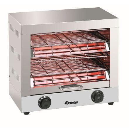 Toaster / brödrost dubbel 3 kW dim. 440x260x400 mm