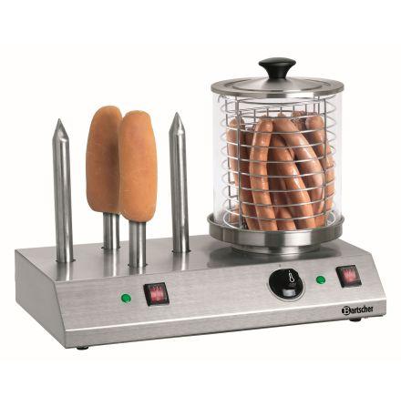 Hot-dog kokare 4 värmespett för bröd dim. 500x285x390 mm