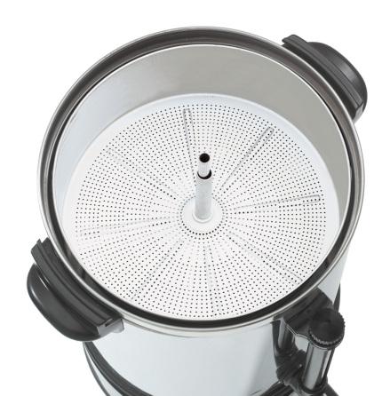 Bartscher perkulatorbryggare Plus 90T (90 koppar)<br> dim. 270x270x475 mm