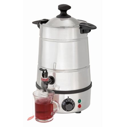Hetvatten dispenser 5 Liter +30°C/+100°C dim. 200x200x400 mm