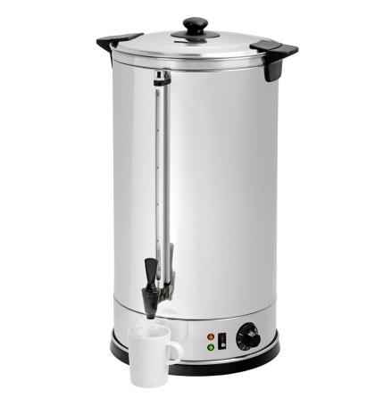 Hetvatten dispenser 28 Liter +30°C/+100°C dim. 300x300x640 m dim. 300x300x640 mm