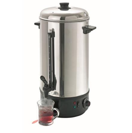 Hetvatten dispenser 10 Liter +30°C/+100°C dim. 213x213x505 m dim. 213x213x505 mm