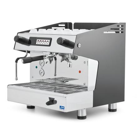 Espressomaskin automatisk 1 grupp 5 liter dim. 475x563x530 mm