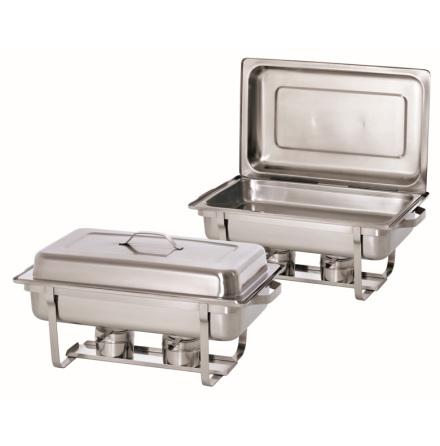 Chafing dish 1/1-65 GN dubbelpack (pasta) dim. 610x355x300 m dim. 610x355x300 mm