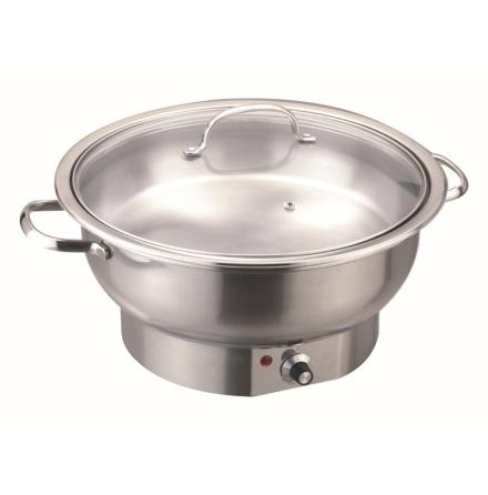 Bartscher chafing dish rund el 3.8 Liter dim. 330x330x220 mm