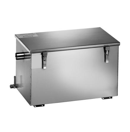 Fettavskiljare passiv kapacitet 20 liter dim. 655x340x316 mm