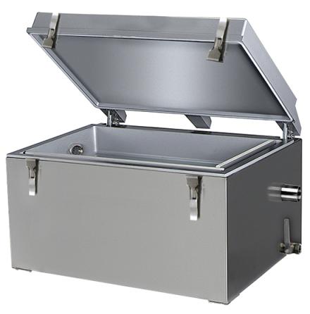 Fettavskiljare passiv kapacitet 44 liter dim. 730x413x409 mm dim. 730x413x409 mm