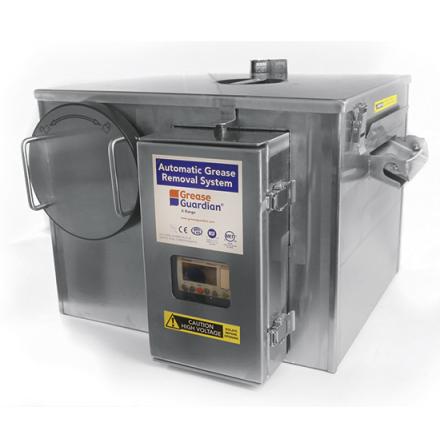 Fettavskiljare digital kapcitet 0.5 L/sek dim. 615x529x372 mm