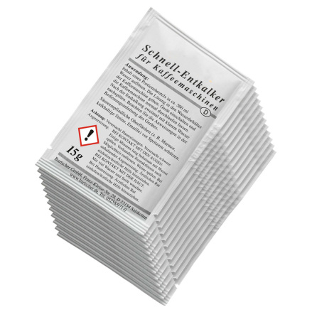 Avkalkningsmedel 30 påsar lämplig för alla sorters kaffebryggare