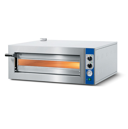 Pizzaugn el 4 pizzor ø 350 mm mekanisk kontroll dim. 1002x86 dim. 1002x864x385