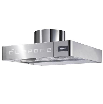 Ventilationskåpa för pizzaugn CAB0008/CD, CAB0014/CD 700 m³/h