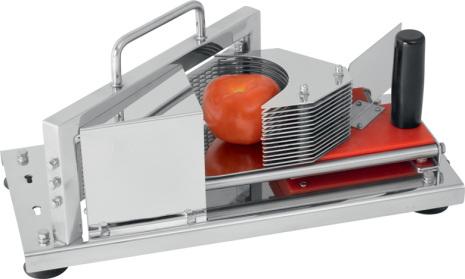 Tomatskivare manuell 4 mm SEVILLA dim. 432x202x210 mm