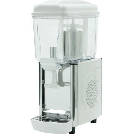 Dryckesdispenser 1 x 12 liter vit dim 230x430x640 mm