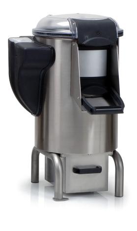 Potatisskalare kapacitet 18 kg 500 kg/h dim.530x660x950 mm