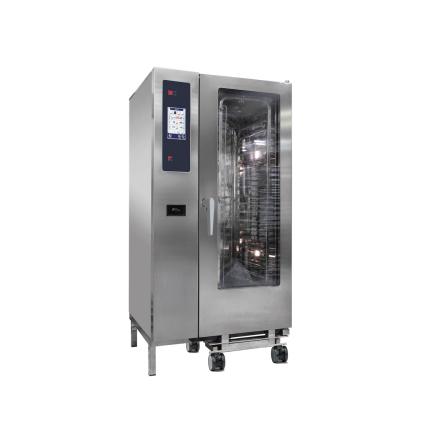 Kombiugn ånggenerator automatisk rengöring 20 GN 1/1 dim. 929x964x1841 mm