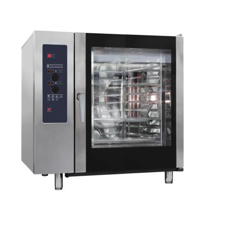Kombiugn direkt ånga automatisk rengöring 10 x GN 1/1 dim. 898x867x1117 mm