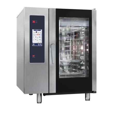 Kombiugn gas ånggenerator automatisk rengöring 10 x GN 1/1 dim. 898x922x1117 mm