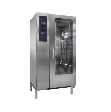 Kombiugn gas direkt ånga automatisk rengöring 20 x GN 1/1 dim. 929x964x1841 mm